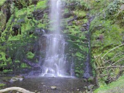 Esta es la hermosa Cascada del Gualtón