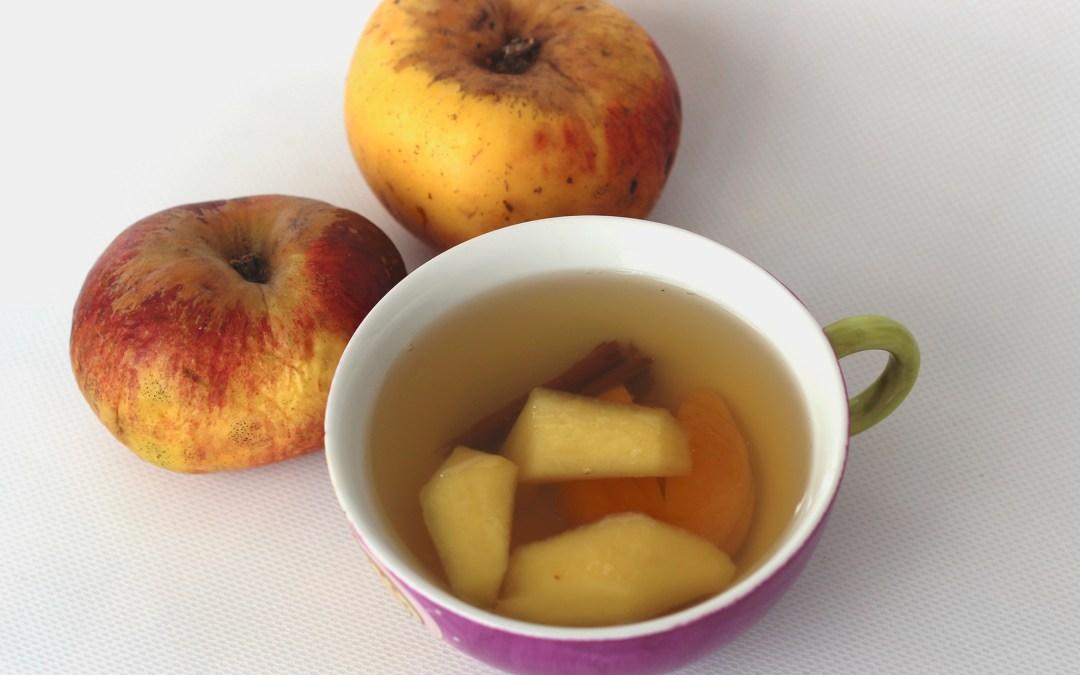 Infusión de Manzana y Jengibre