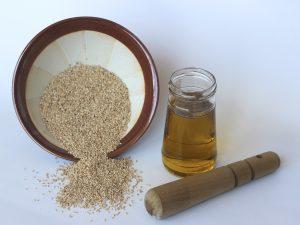 Ingredientes para hacer Tahini casero