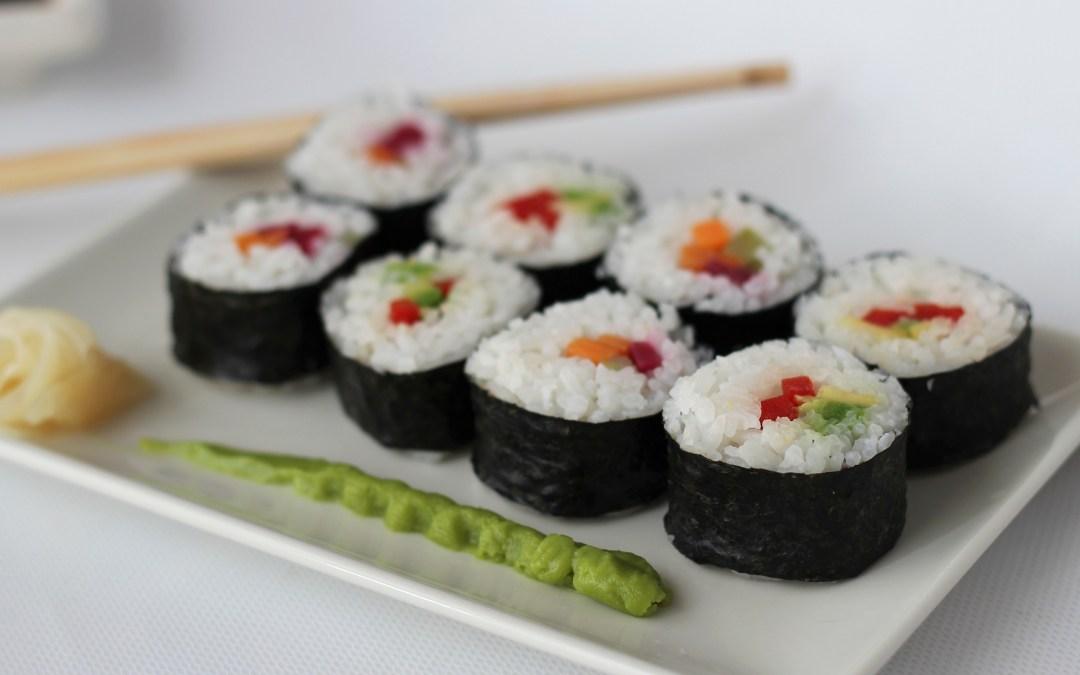 SUSHI, Receta Sencilla para hacer Sushi Vegano