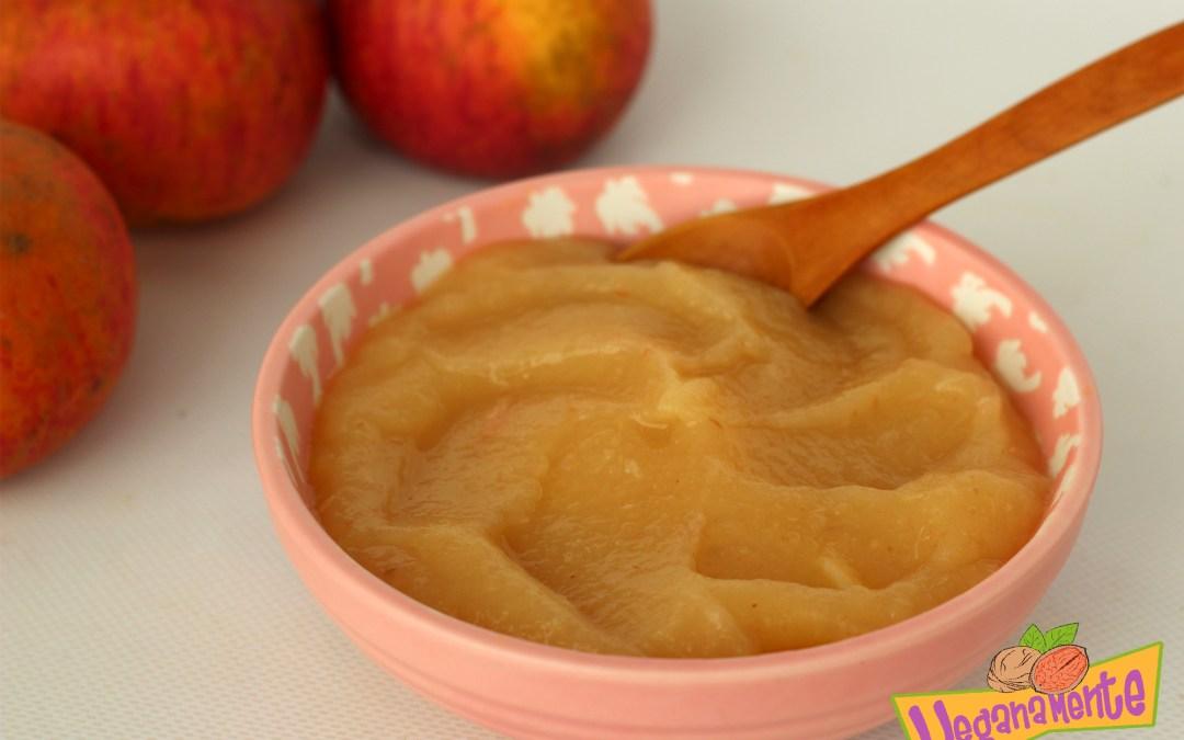 Crema de Manzanas, suave, deliciosa y sin azúcar.