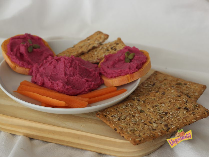 Hummus Remolacha