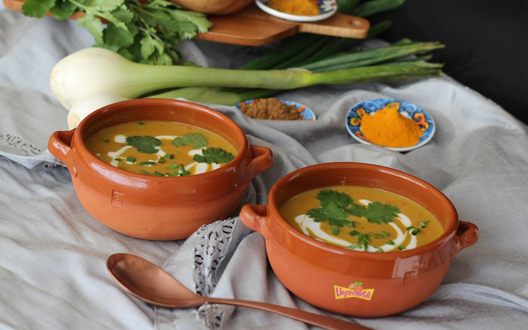 Sopa de Calabaza al Curry