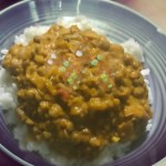 Peanut Butter And Lentil Curry