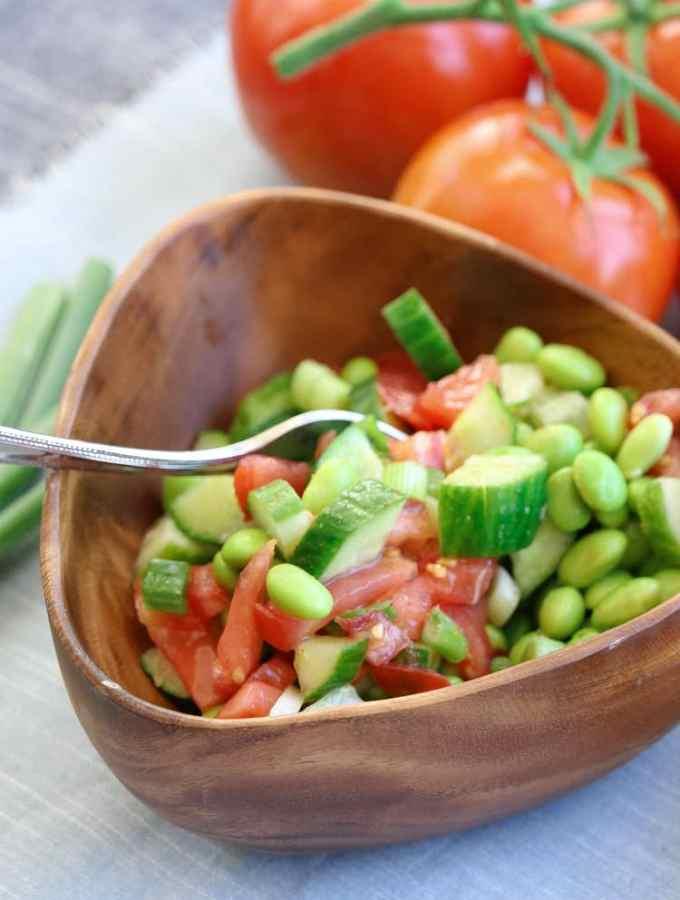 Favorite Summer Edamame Salad
