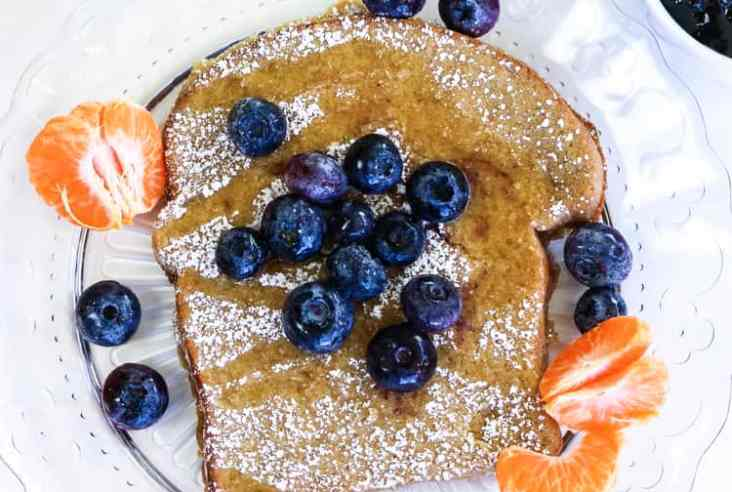 Orange French Toast (Vegan) https://www.veganblueberry.com
