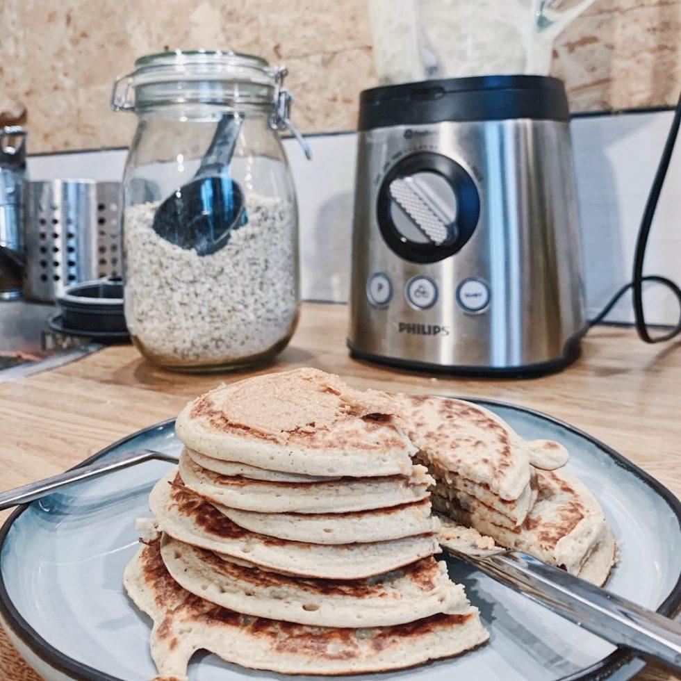 Pancakes en 4 ingrédients: sans oeufs, sans lactose et sans gluten