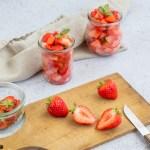 Salade fraîcheur à la fraise