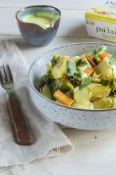 Salade tiède à la mangue et piment - Pal'ais Mangue et Piment - recette sans gluten