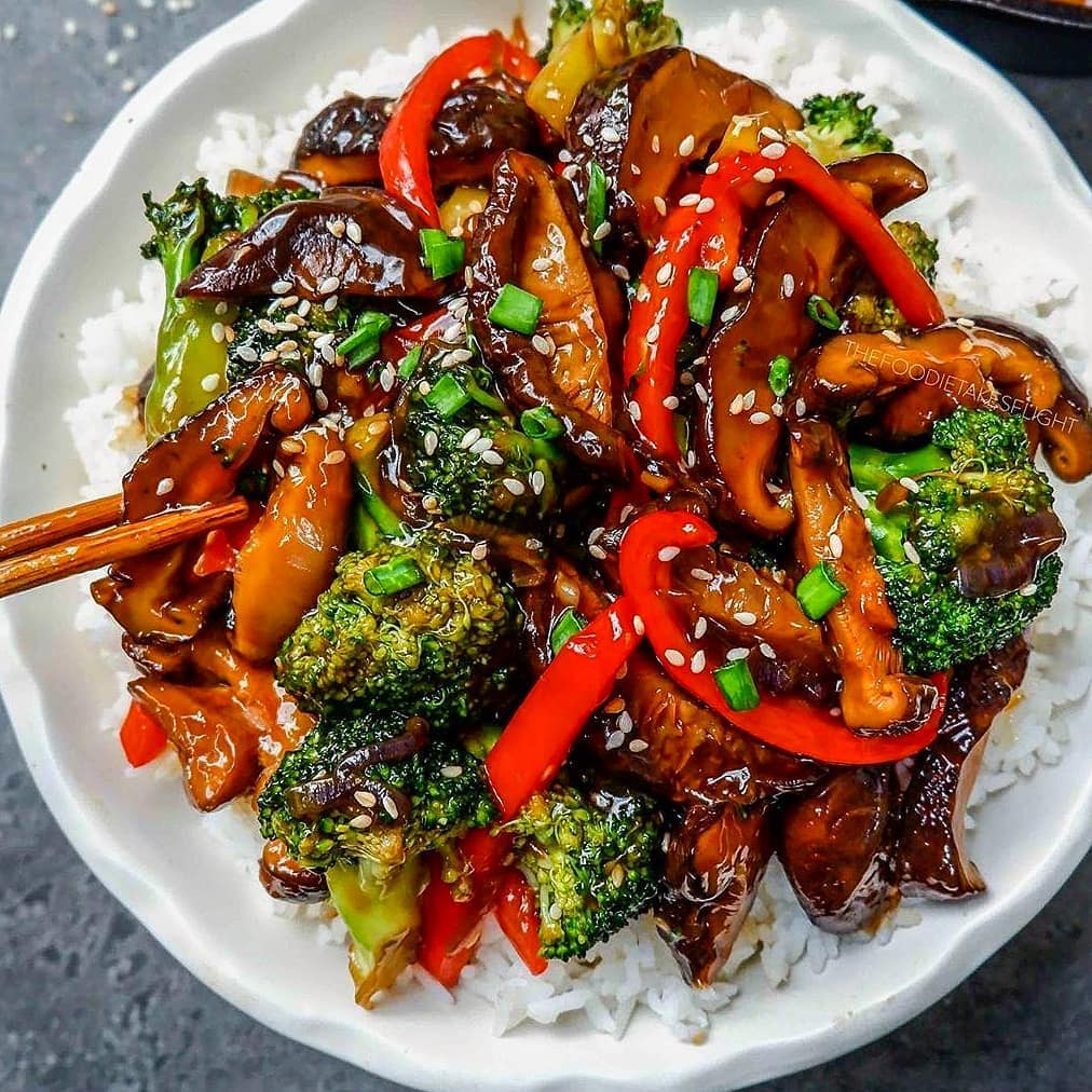 delicious chinese style no beef and broccoli display image  87a6ef87
