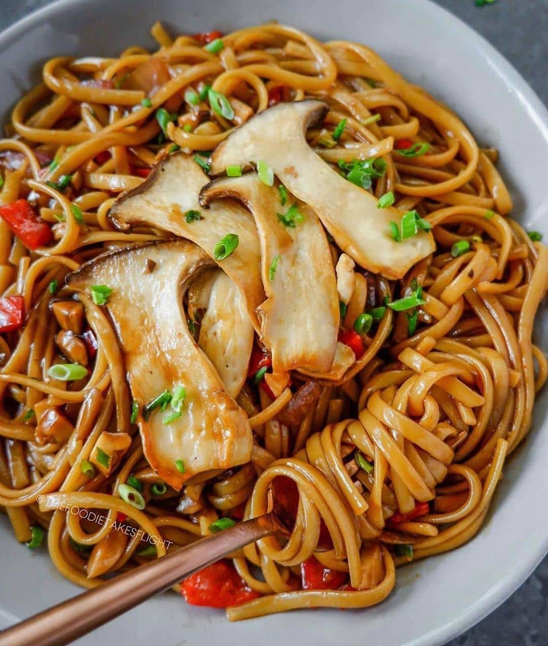 easy kung pao pasta display image  ab9142a8