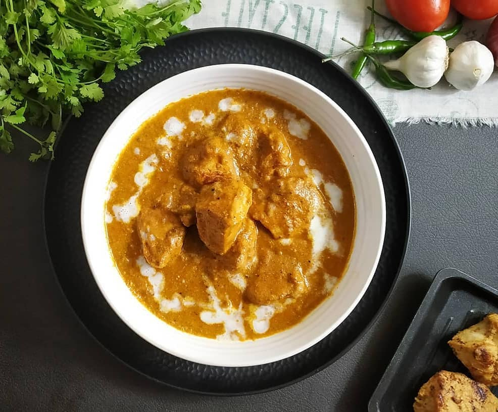 butter chicken is a perfect indian style of comfort food display image  f685b704