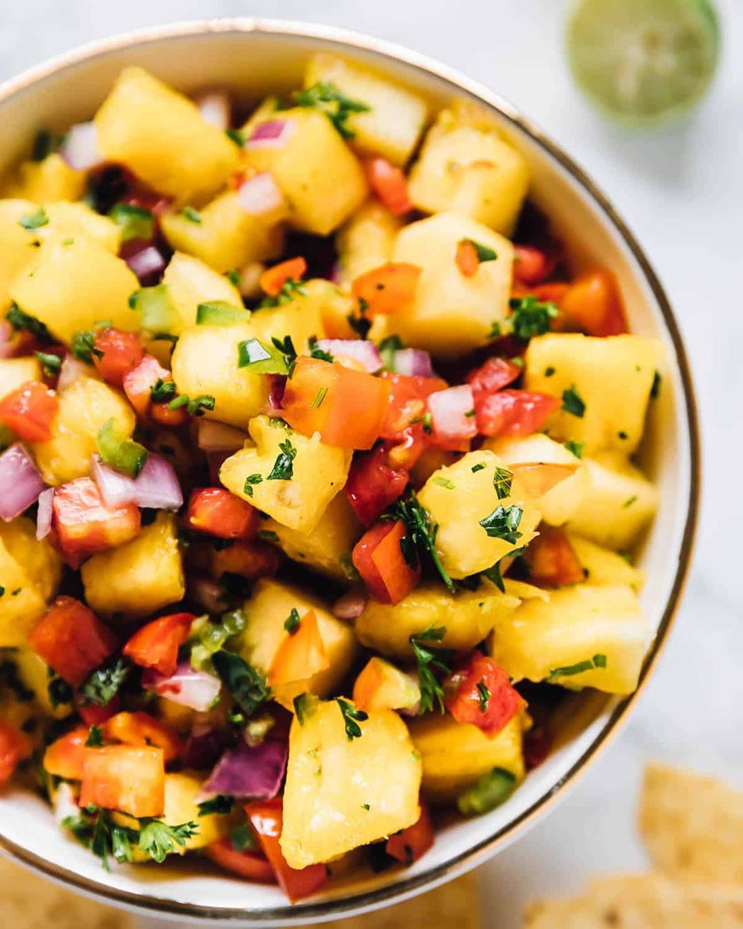 easy pineapple salsa all day err day  t display image  eebcbc1c