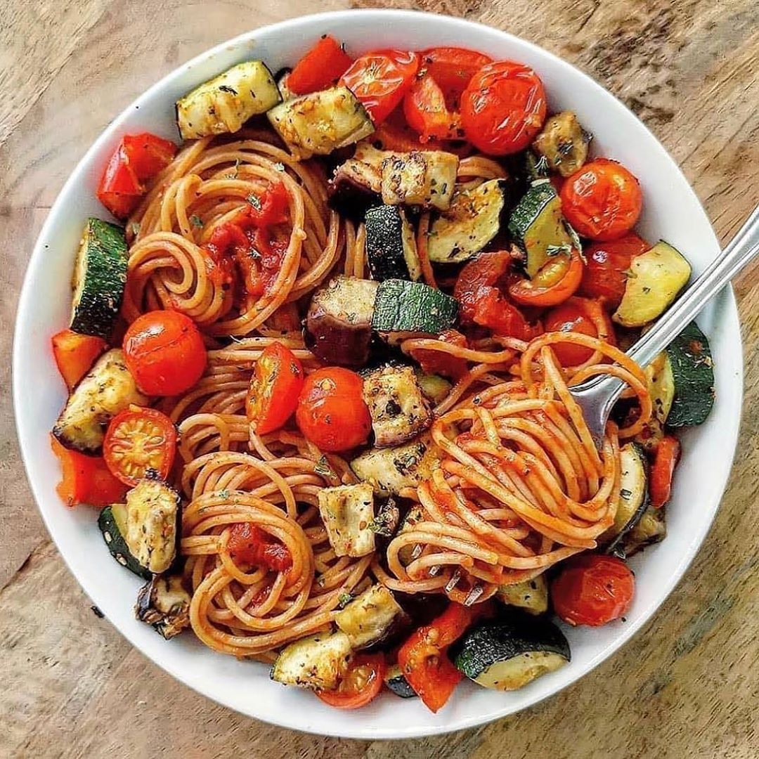 roasted vegetable pasta by leabowlsyourmind  share t display image  13bf95d1