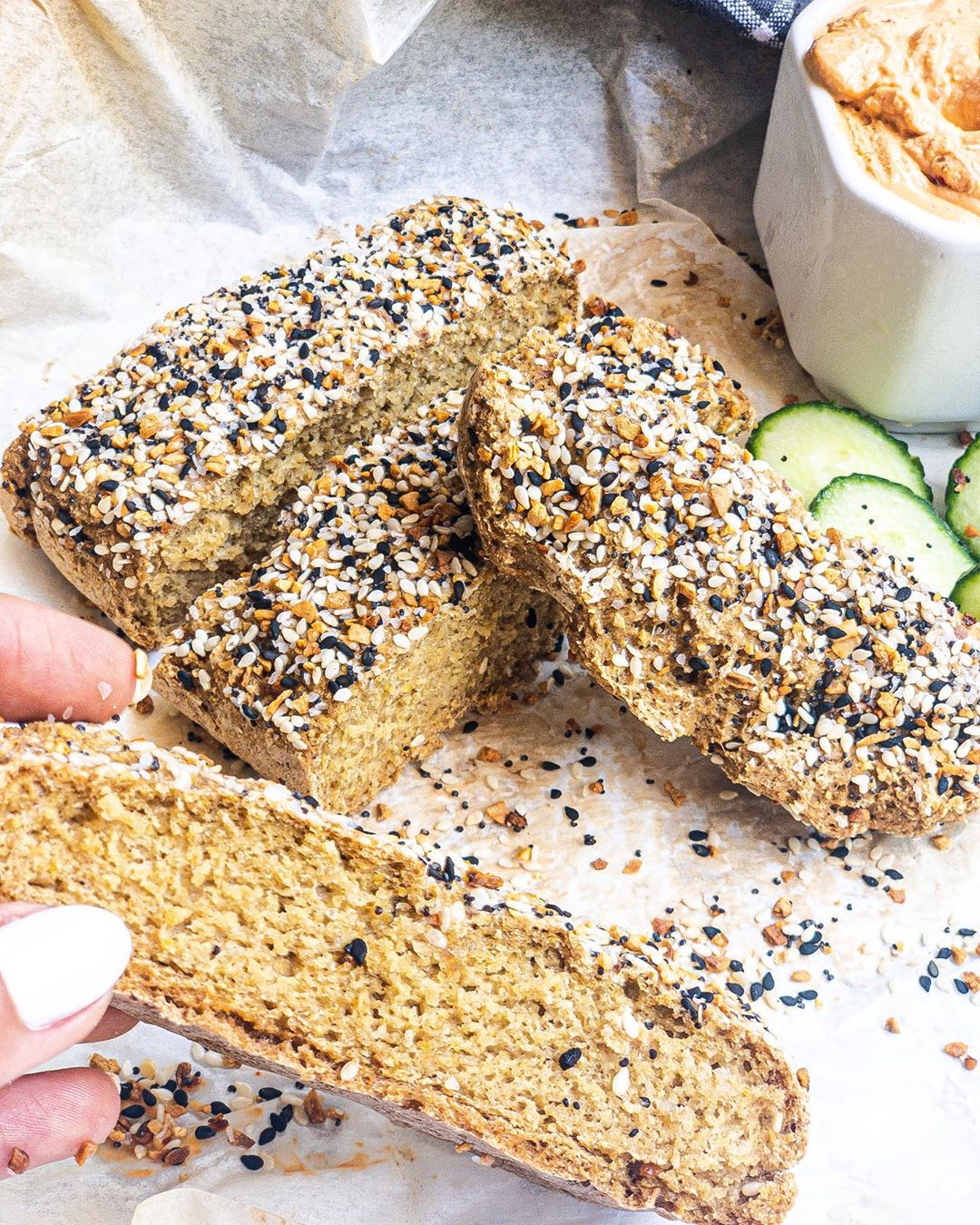 oats bread just in few simple ingredients its easy simple an display image  a991c3db