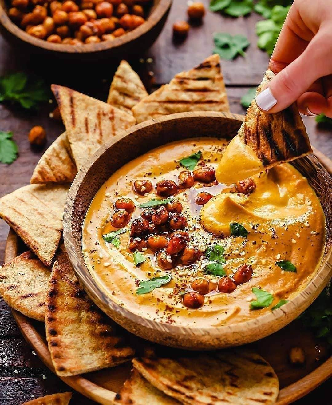 creamy golden hummus  hummus was an acquired taste for display image  fe2203a5