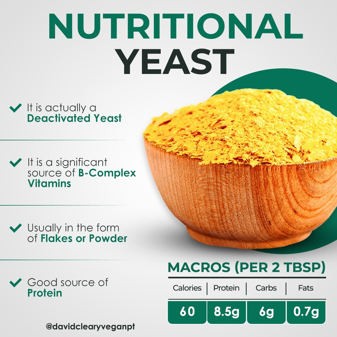 double tap if you love nutritional yeast display image  e21927d4