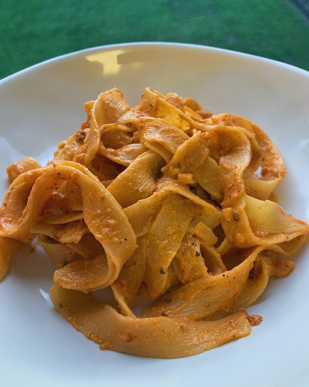 pappardelle pasta with vodka sauce nothing better display image  427f1855