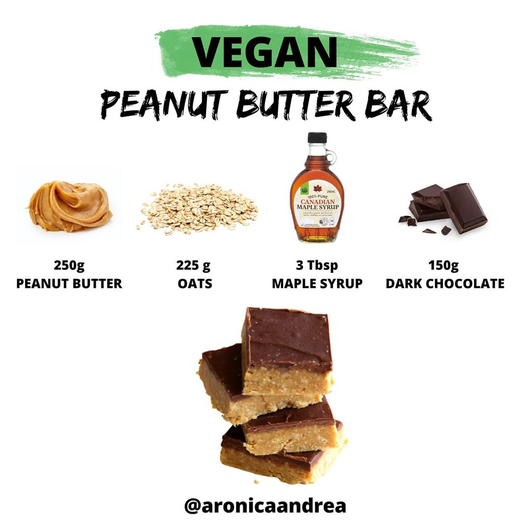 vegan peanut butter bars such an amazing recipe with only display image  455005f1