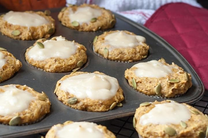 get in the fall spirit with this vegan pumpkin cream cheese display image  d67fc9cb