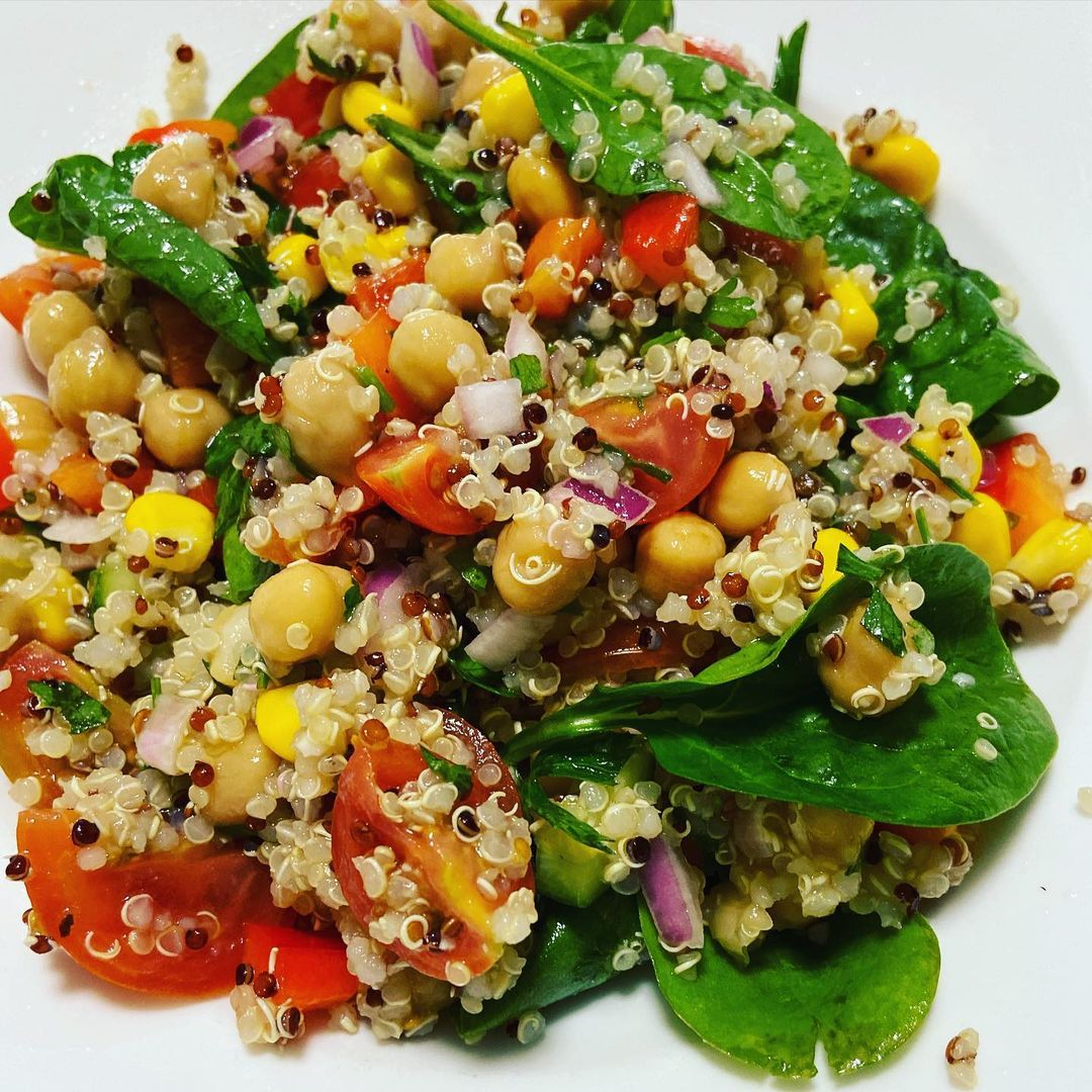 this colourful quinoa salad is a great addition to any meal display image  963febf2