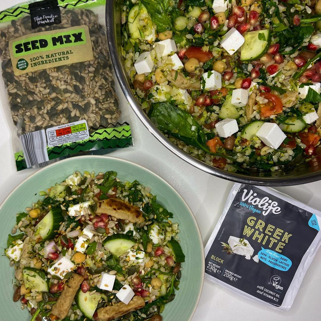 chikn f*ta and broccoli tabouleh display image  992f3a00