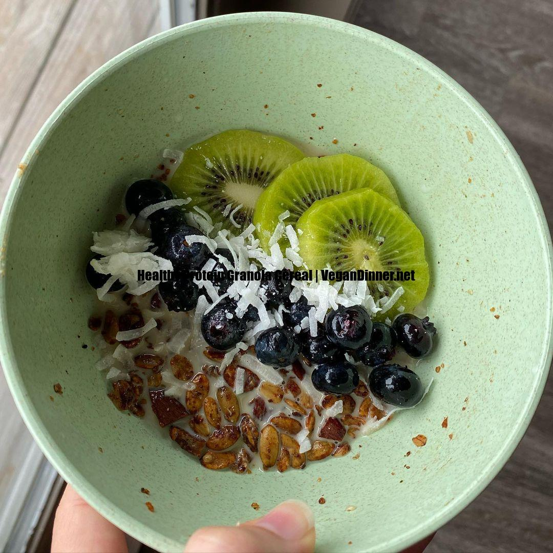 healthy protein granola cereal multip img edced