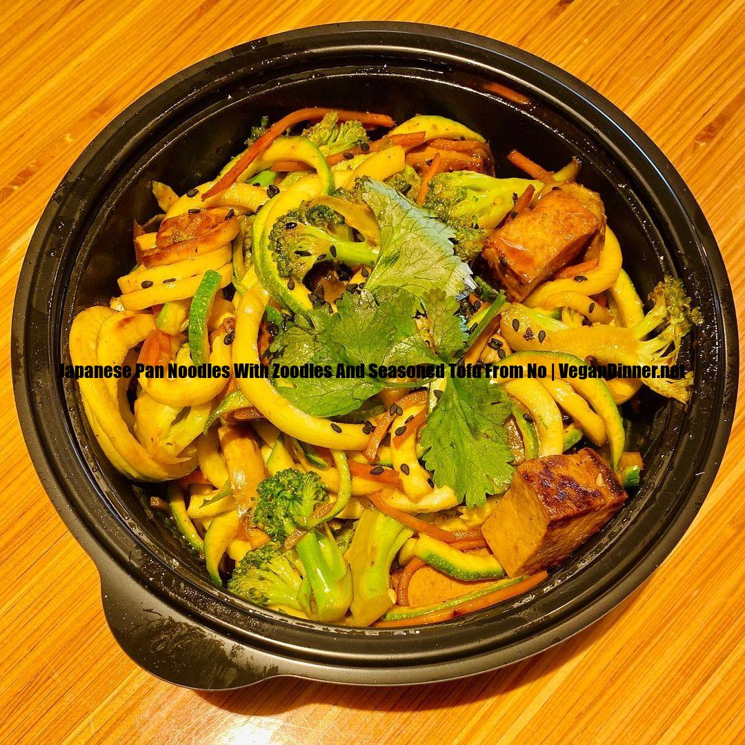 japanese pan noodles with zoodles and seasoned tofu from no display image becff