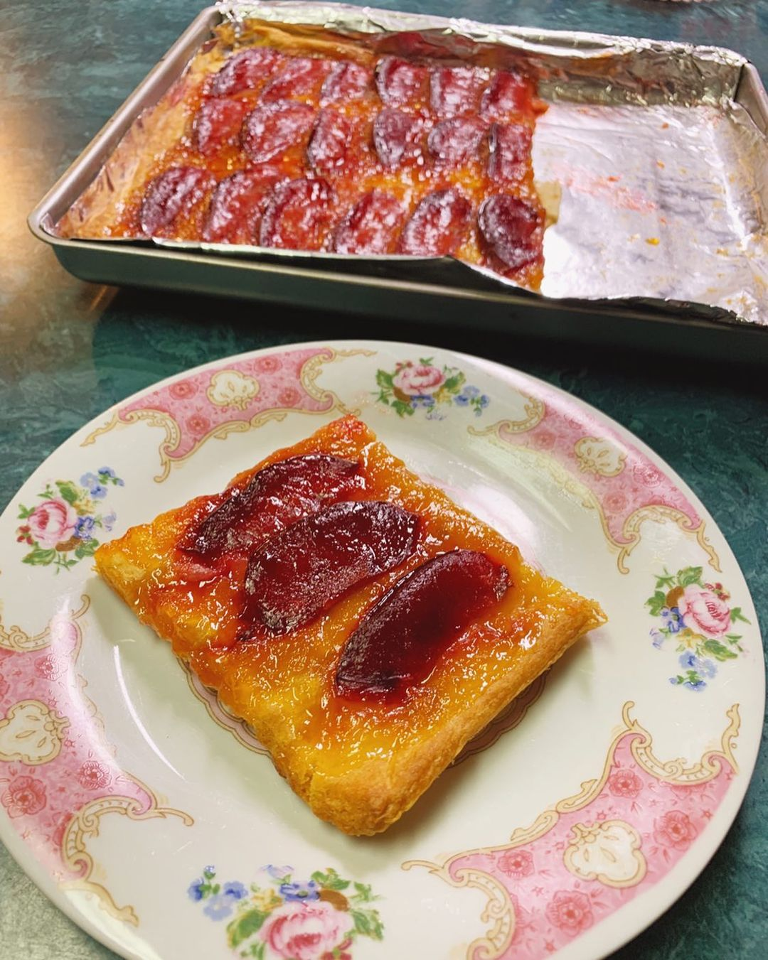 plum and apricot tart simple easy versatile i made these display image ff