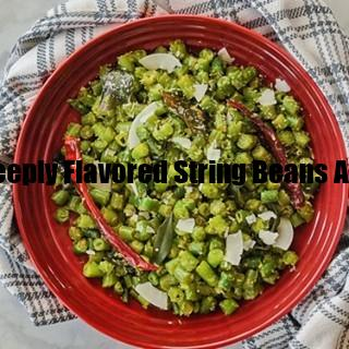 this bold fragrant deeply flavored string beans and coconu display image