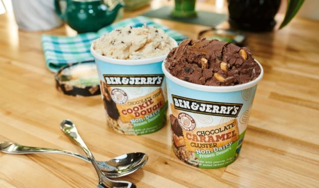 ben and jerrys vegan cookie dough ice-cream