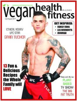vegan health fitness magazine