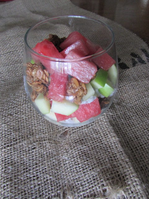 Coconut Chia and Watermelon Seed Parfait - V/GF
