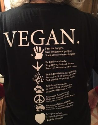 Vegan T-Shirt Advocacy Series – #2