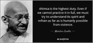 Ahimsa - How It Can Fit Into Your Lifestyle