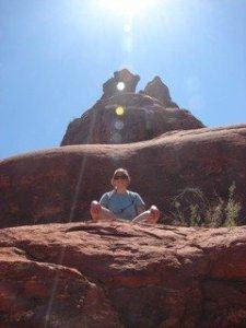 Orbs over my head - Sedona, AZ