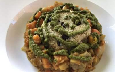 Root Vegetable & Fava Bean Tagine