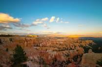 Tramonto sul Bryce Canyon