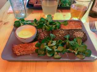 Crocchette di spinaci e stracchino vegan