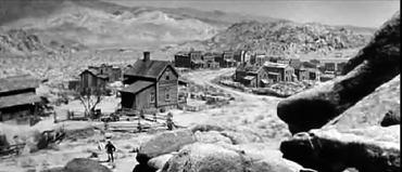 069 set ceilo giallo 1948 Red Dog Town