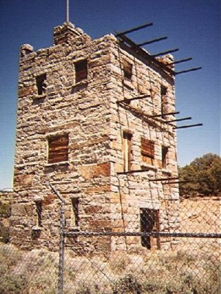 Historic stone tower in Austin Photos by C.N. Plummer