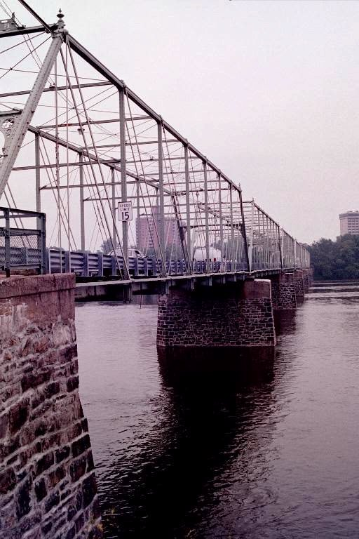The Calhoun Street Bridge across the Delaware River Photo by C.N. Plummer