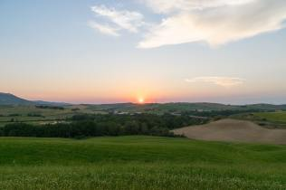 Tramonto Vad D'Orcia-18