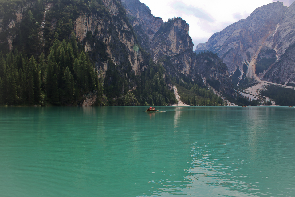 Pragser Wildsee - Boot