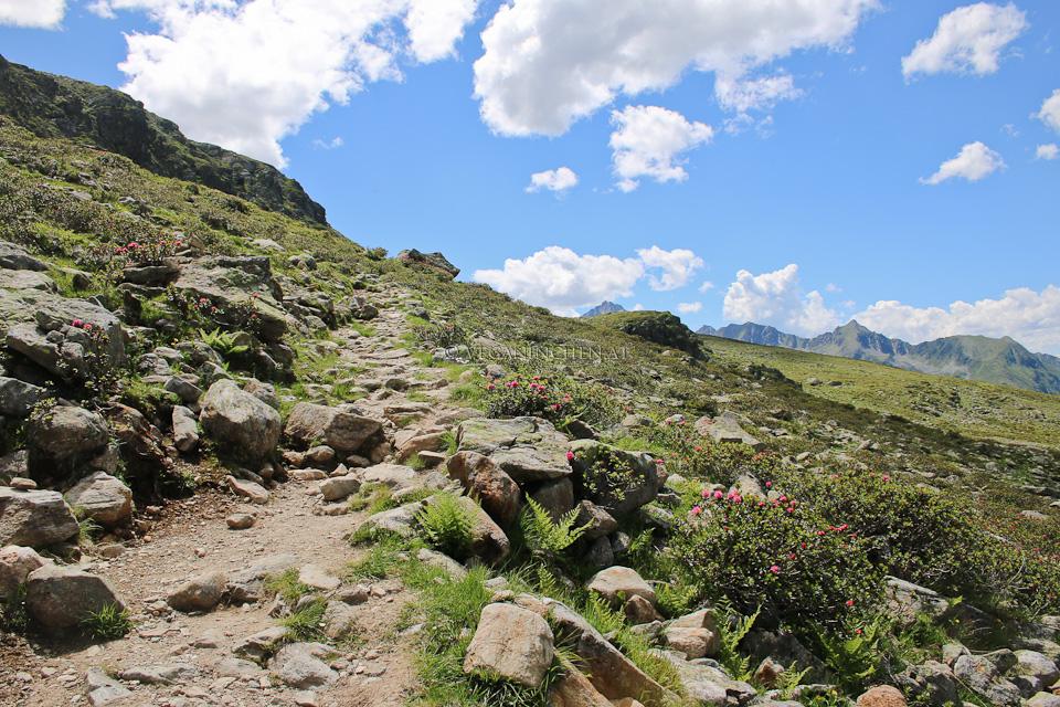Kühtai Wanderweg
