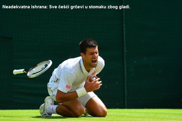 Ishrana Novaka Djokovica