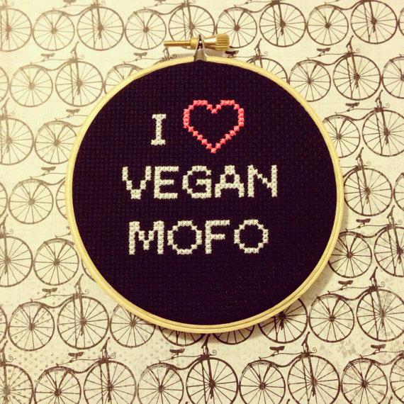 i love veganmofo
