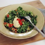 Avocado Dressing Recipe for Creamy Vegan Kale Salad