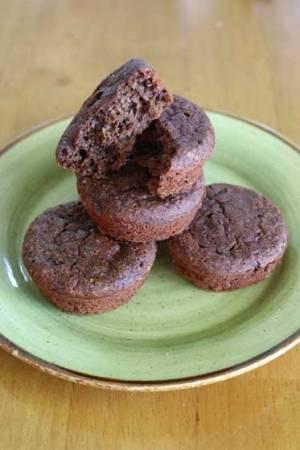 Chocolate Chickpea Muffins Taste Test, from Rainbow in My Kitchen