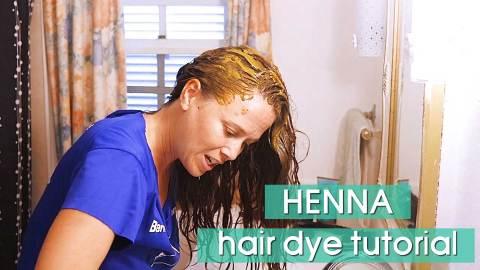 Natural Henna Hair Dye Tutorial: How I Dye My Hair at Home